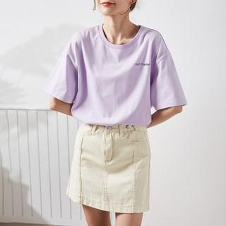 Tonlion 唐狮 62622FC0022358703 女士印花短袖T恤