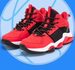361° 童鞋男童鞋春季新款减震防滑高帮篮球鞋361度中大童运动鞋