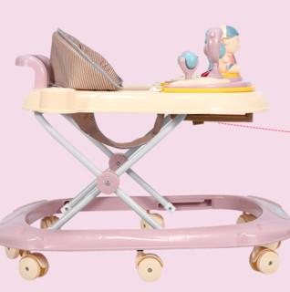 FOREVER 永久 永久婴儿学步车防o型腿6-7-10-18个月宝宝小孩多功能防侧翻学走车