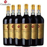 PLUS会员:中澳凯富 炫金 西拉赤霞珠干红葡萄酒 750mL*6瓶