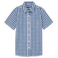 MUJI 无印良品  28SC768 女款短袖衬衫