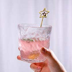 茶迷 冰川纹玻璃杯 300ml