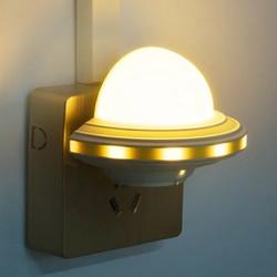 光控LED飞碟小夜灯节