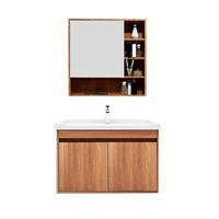 14日0点:HUIDA 惠达 欧式实木浴室柜 组合实木柜门款1322