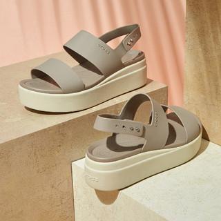 Crocs 卡骆驰 V206453-15W    厚底舒适时尚凉鞋