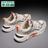 MULINSEN 木林森 MLS1529-mk 男款运动休闲鞋