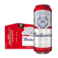 Budweiser 百威 淡色拉格啤酒 550ml*15听