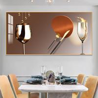 嘉恒艺 B02 餐厅装饰晶瓷画 40*80cm