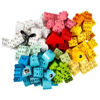 LEGO 乐高 得宝10909心形创意积木盒益智积木玩具