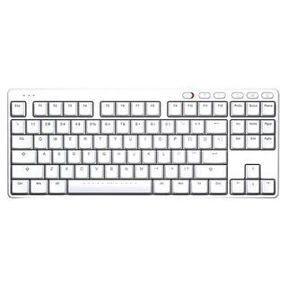 S200 2.4G無線機械鍵盤 白色 青軸 87鍵
