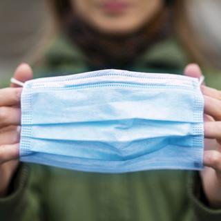海氏海诺 一次性医用外科口罩 20片 蓝色