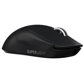 logitech 罗技 PRO X SUPERLIGHT 2.4G无线鼠标 25600DPI 黑色