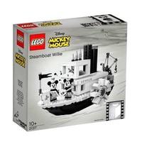 LEGO 乐高 Ideas系列 21317 汽船威利