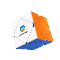 京东PLUS会员 : MONSTER GO 萌刻斜转魔方异形套装顺滑初学者比赛专用儿童玩具