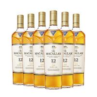 MACALLAN 麦卡伦 蓝钻 12年单一麦芽苏格兰威士忌 40%vol