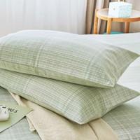 13日0点:愉悦之家 新疆棉老粗布软席枕套