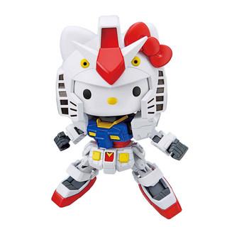 百亿补贴 : BANDAI 万代 SD EX Hello Kitty猫 联动 RX-78-2