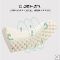 PLUS会员:Bidekanu 彼得卡努   PT3CM 泰国进口天然乳胶枕头 60*33*11cm