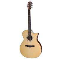 伊斯特曼Eastman吉他民谣吉他全单AC422 C 原声缺角 全单 原木色