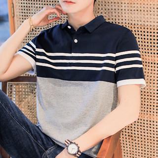 Tieshidandun 铁狮丹顿 经典男式polo衫夏季新款休闲男士短袖polo男士t恤短袖