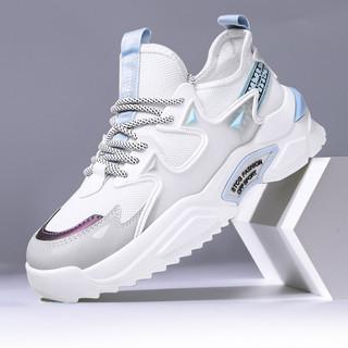 L'ALPINA 阿尔皮纳袋鼠 男士休闲鞋夏季新款透气男鞋运动鞋跑步鞋潮流百搭网面鞋潮鞋