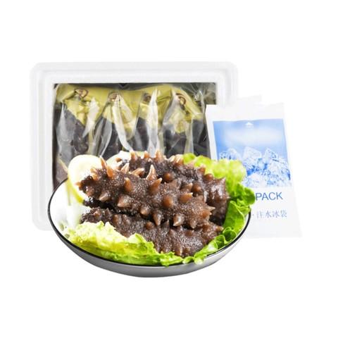 皇纯 冷冻即食海参1kg 14-28只 2斤装有机刺参礼盒海参比干货方便