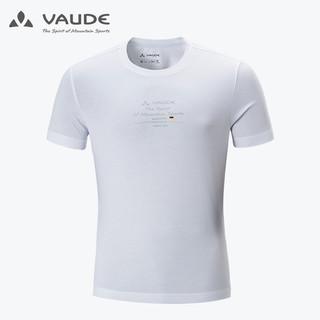 VAUDE 巍德 巍德(VAUDE)户外运动男士休闲T恤短袖夏季透气跑步健身徒步旅行棉短袖T恤1739121