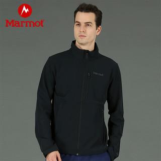 Marmot 土拨鼠 【开学季】Marmot/土拨鼠2021春季新款男士防风防泼水保暖透气M3软壳衣