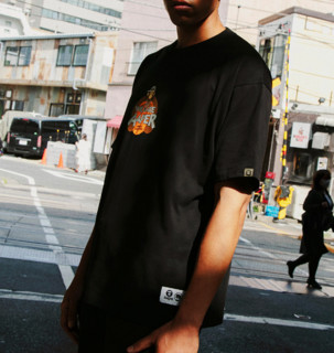 LI-NING 李宁 badfive反伍系列 AAPER联名款 男子运动T恤 AHSR747