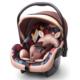 贝贝卡西 儿童安全座椅 0-15个月 咖色松果 199元包邮