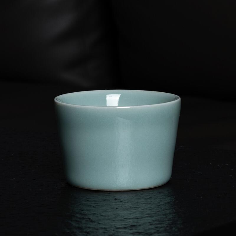 xigu 熹谷  龙泉青瓷 手工粉青釉茶杯