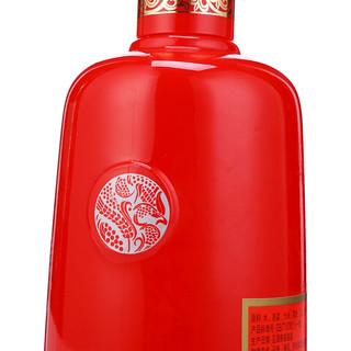 WULIANGYE 五粮液 五粮醇 红淡雅 50%vol 浓香型白酒 500ml*6瓶 整箱装