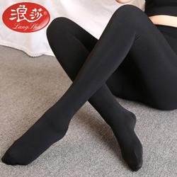 Langsha 浪莎 #运动时尚国货新品#2条装浪莎女士打底裤秋冬连裤袜