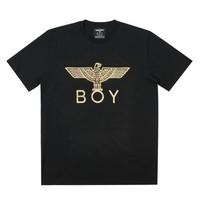 BOY LONDON 伦敦男孩 男士老鹰烫金款T恤