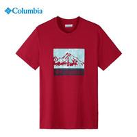 Columbia 哥伦比亚 AE0403 男士圆领短袖T恤