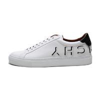 GIVENCHY 纪梵希 男士皮革系带logo浮雕休闲鞋