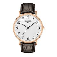 TISSOT 天梭 Tissot 天梭 魅时系列皮带男士石英表手表 T109.610.36.032.00