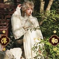Keystone 拱心石 拱心石 千扇祭鹤 和风洛丽塔 正腰连衣裙  若草色 S