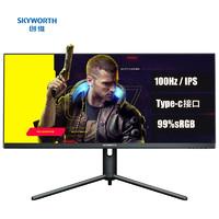 SKYWORTH 创维 F34G4Q 34英寸IPS电竞显示器(3440×1440、100Hz)