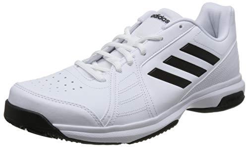 adidas 阿迪达斯 approach 男子网球鞋 BB7664 白/一号黑/白 41