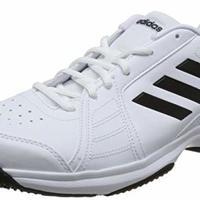 adidas 阿迪達斯 approach 男子網球鞋 BB7664 白/一號黑/白 41