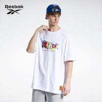 Reebok 锐步 CL X BEP UNISEX SS TEE GT4621 男女短袖T恤