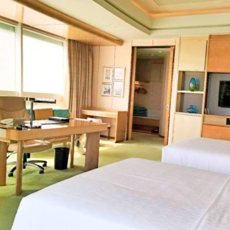湖州喜来登温泉度假酒店 豪华双床房2晚  (双人英式下午茶  + 月亮温泉门票)