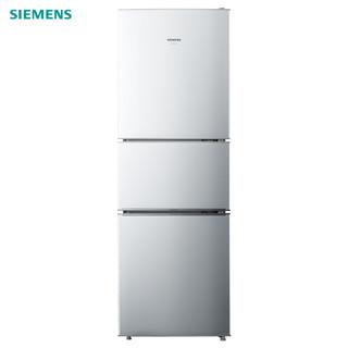 SIEMENS 西门子 KG23D116EW 三门冰箱 232升