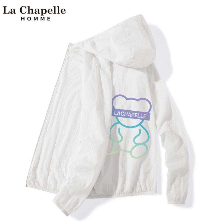 La Chapelle 拉夏贝尔 女童连帽防晒衣