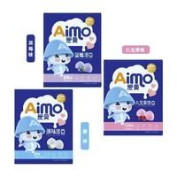 爱莫 酸奶益生菌溶溶豆 20g*3口味组合装