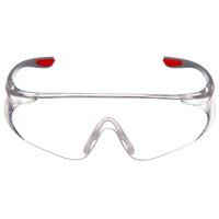 Honeywell 霍尼韦尔 S300A-300100 红款骑行护目镜 透明 1副装