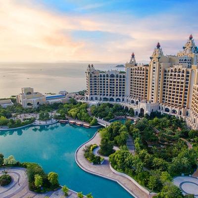 珠海长隆橫琴湾企鹅/马戏/海洋/科学酒店 主题客房1晚( 含海洋王国门票)