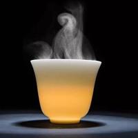 德化白瓷高档主人杯2个 5.5*4.3cm 容量45ml