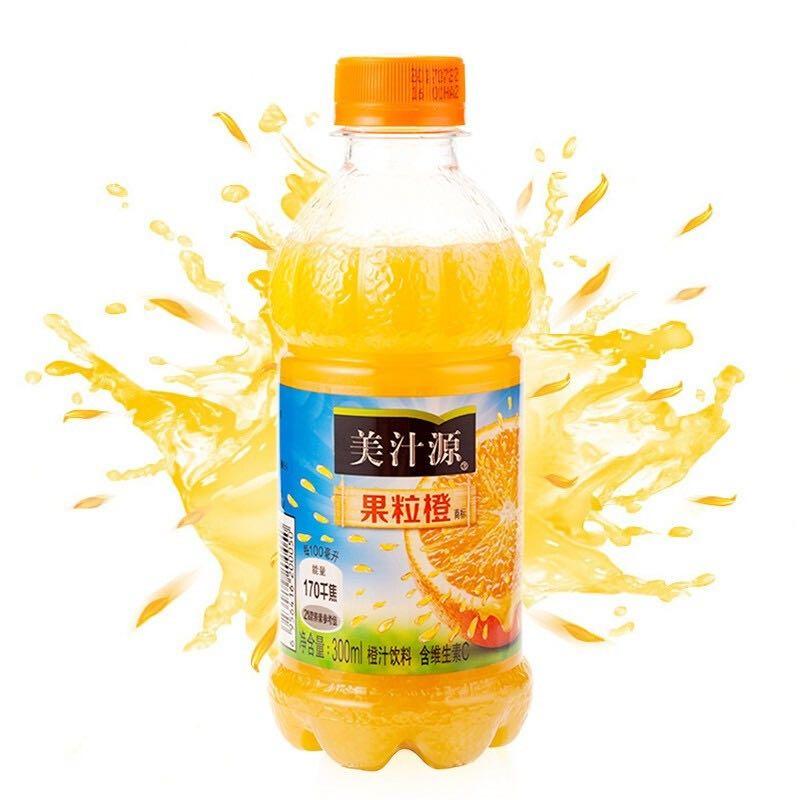 Minute Maid 美汁源 果粒橙 300ml*6瓶